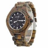 2018 Fashion Mens Bois de Bambou en bois de quartz Watch Watch Date automatique l'homme Watch