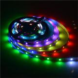 Illuminazione di striscia flessibile di Ws2812 LED per il natale