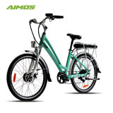 Liga de Al 36V250W City Aluguer Electric/Elevador eléctrico de bicicletas para senhora