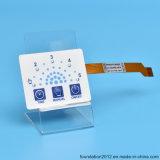 Светодиодный индикатор на ощупь рельефным нажмите панель клавиатуры мембранного переключателя с ЧПУ