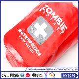 赤いカラー新しいデザイン革手のヘルスケアの緊急時キット