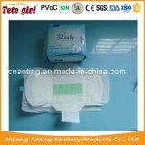 Aktiver Sauerstoff und weite IR-Anionen-Chip-freies Beispielgesundheitliche Auflagen, gesundheitliche Serviette der Dame-Organic Cotton Anion