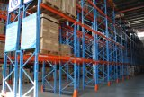 cremagliera registrabile del pallet del magazzino del metallo di 1.5tx3levels P88X68mm 75mm Q235B