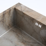 중국 제조자 단 하나 사발 사각 304 스테인리스 부엌 개수대
