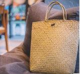 자연, 실제적인 Handmade 밀짚 바구니 (BC-S1284)
