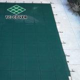 O logotipo personalizado Segurança Verde Tampa de malha para qualquer piscina interior ou exterior e spa