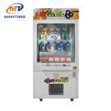 중요한 주된 동전에 의하여 운영하는 클로 기중기 장난감 기계 선물 phan_may 게임 기계