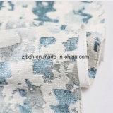 Tessuto grigio dell'ammortizzatore del tessuto del poliestere di colore di sensibilità morbida