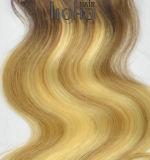 Colore brasiliano della miscela dell'onda del corpo dei capelli umani una clip da 18 pollici nell'estensione dei capelli