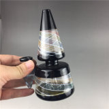 Nouveau design de gros Bontek Mini tuyau eau en verre pour fumer.