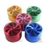 Color mezclado al por mayor cuatro porciones de amoladora del tabaco