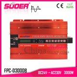 Suoer 3kw, 24V 230V de alta potencia de Onda senoidal pura Inversor de potencia (FPC-D3000B)