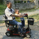 Vespa eléctrica de la movilidad de la motocicleta de cuatro ruedas para el adulto