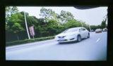 O carro parte a câmera cega direita do sensor da zona