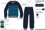 冬のニットの快適な寝間着夜摩耗のスリープの状態であるセットのスリープの状態である衣服