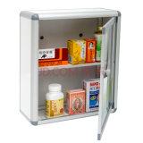 Montado na parede de metal quadrados para uso pessoal Caixa de Medicina