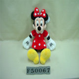 채워진 장난감 Mikey 마우스 및 Minnie