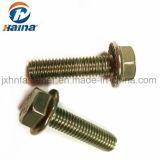 Kopf-Flansch-Schrauben des Edelstahl-DIN6922/DIN6921 304/316 flache des Hexagon-M2-30 mit gezackt