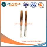 Cone de carboneto de tungsténio Shank Alargador de Flauta Reta