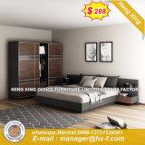 Grosser quadratischer silberner Dekoration-leitende Stellung-Tischplattentisch (HX-8ND9671)