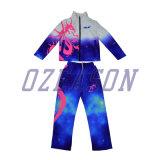 Diseño de Moda OEM Slim Fit Chándal mujer traje de jogging (TJ007)