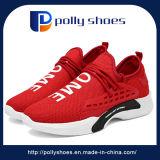 Zapatos respirables de los hombres del deporte de los zapatos ocasionales de la tela de los hombres de la manera