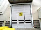 Flexibler stapelnder Tür-Schnelldrehstahl-Tür-schneller Rollen-Blendenverschluß (Hz-020)