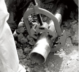 """Hongli 2 """" - 4 """" portatifs Aucun-Étincellent le coupeur de pipe froid (h4s)"""