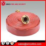"""1-1/2 """" tuyau d'incendie rouge intérieur/extérieur en caoutchouc synthétique"""