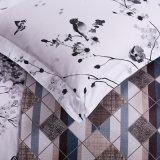 Lençóis de cama de Sateen com desconto durável para o quarto principal