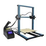 La mejor impresora 3D 3D Juegos de impresora de escritorio de alta calidad CNC Full Metal con 1kg de filamentos Richoose PLA