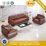 Sala de Estar moderno mobiliário doméstico sofá de couro (HX-8N1118)