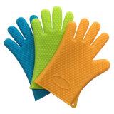 Сформированный сердцем перчаток печи конструкции Kitchenware перчаток силиконовой резины теплостойкGp толщиной