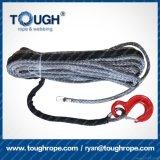 Cable sintetizado de la cuerda del torno con el reemplazo de la recuperación del terminal ATV SUV de la nariz de la funda del dedal del gancho de leva