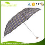 Manual abierto y paraguas cercano de 3 dobleces con la impresión de Digitaces