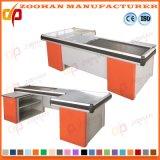Metallsupermarkt-System-Speicher-Kassierer Checkstand Tisch-Prüfungs-Kostenzähler (Zhc31)