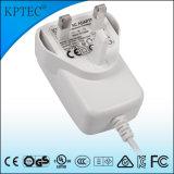 세륨 증명서를 가진 15V/0.8A/15W AC/DC 엇바꾸기 힘 접합기 공급