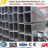 在庫のSs400長方形の鋼管の正方形の管