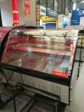 2つの棚のステンレス鋼のケーキの表示ショーケースのペストリーの表示クーラーのコマーシャル冷却装置