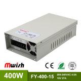 400W 15VDC 27A Wechselstrom Stromversorgung zur Gleichstrom-IP44 SMPS LED