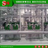 Gomma Bene-Attestata di qualità che ricicla la pianta della trinciatrice che tagliuzza intero spreco/scarto/pneumatici usati