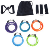 aptitud pesada del bucle de la puerta de la gimnasia del ABS de la cuerda de la tensión de la yoga de la venda de la resistencia de la potencia 11PCS