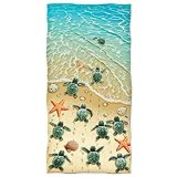 Il cotone pieno su ordinazione di stampa Microfiber/di Promothinal scherza i tovaglioli di spiaggia