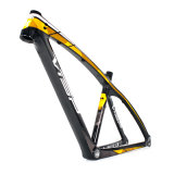 Superlight Mountian carbono aluguer de estrutura de MTB 27,5er com Bb92 Threaded