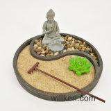 Décoration neuve de jardin de Zen de figurine du modèle 2017