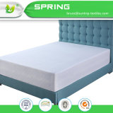 Protector de colchón suave tejido impermeable ropa de cama blanda cama Queen Size portada