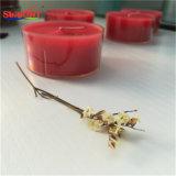 Candela Handmade rossa di Tealight da Soy Wax