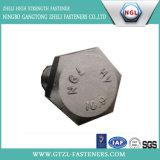 Структурно болт Hex головки DIN6914 (ранг 10.9)