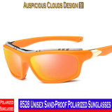 8528 Areia-Prova unisex óculos de sol polarizados