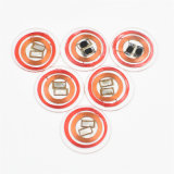RoHS Kurbelgehäuse-Belüftung kundenspezifische zusammengesetzte intelligente RFID Münzen-Karte für Zugriffssteuerung